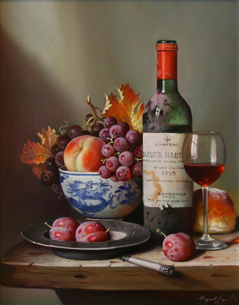 вино Latour Haut Briun 1959 800 х 1020