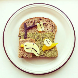 The Art Toast Project _Дали_Ida Skivenes