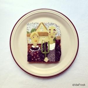 The Art Toast Project _Грант Вуд_Ida Skivenes