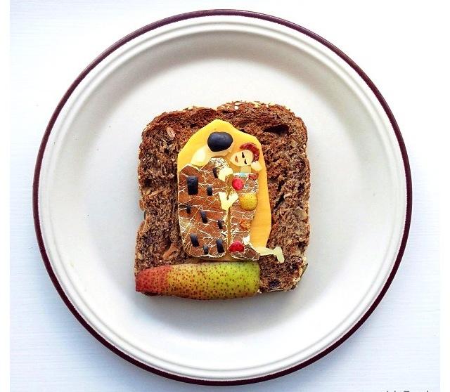 The Art Toast Project _Климт_Поцелуй_Ida Skivenes