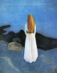 "E.Munch ""Girl On A Shore""_Molodaya_zhenschina_na_beregu_1896"