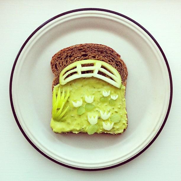 The Art Toast Project _фуд арт_Mоне_Ida Skivenes