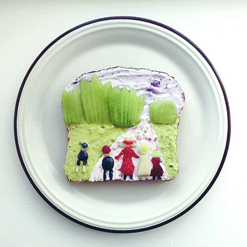 The Art Toast Project _Munch -The Fairytale Forest- Ida Frosk