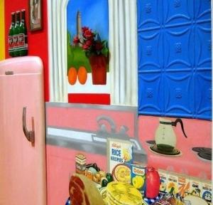кухня тома вессельмана в стиле ассамбляж
