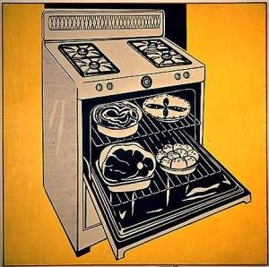 Кухонная плита(1961)_Рой Лихтенштейн
