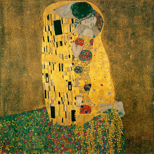 "Густав Климт_Поцелуй-Gustav Klimt "" The Kiss"""