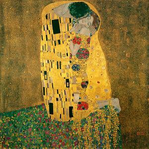 "Густав Климт_Поцелуй-Gustav Klimt "" The Kiss"""