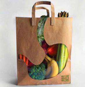продуктовая сумка Пустой желудок 600 х 614