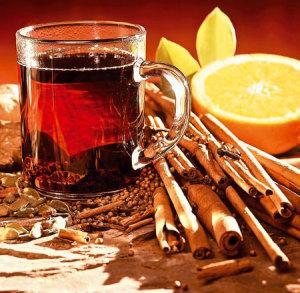 горячий пунш и его ингредиенты
