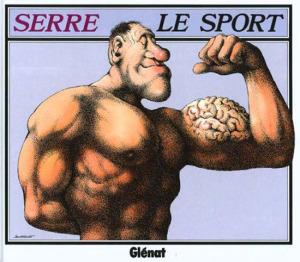 Claude Serré Сборник карикатур о спорте 550 х 482