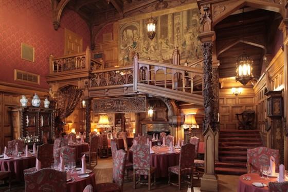 клуб ресторан цдл_фото дубового зала