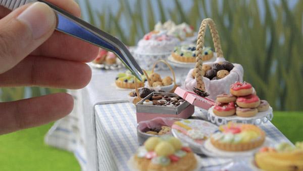 миниатюрная еда от Stephanie Kilgast 600 х 340