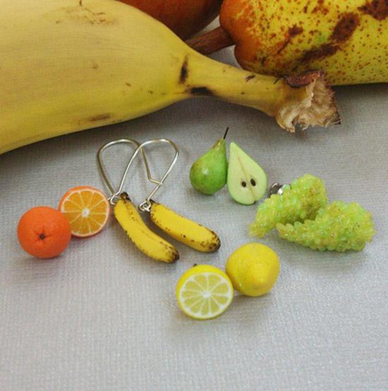 фото миниатюры Стефани Килгаст_миниатюрные фрукты 550 х 555