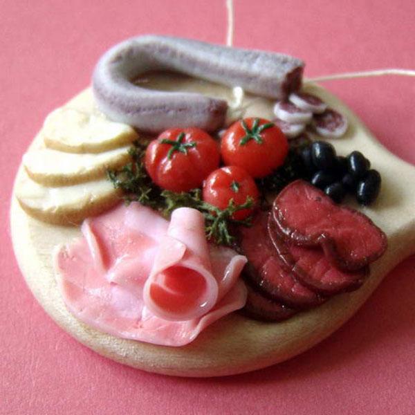 фото миниатюры работы Стефани Килгаст_мясная нарезка и овощи 650 х 650