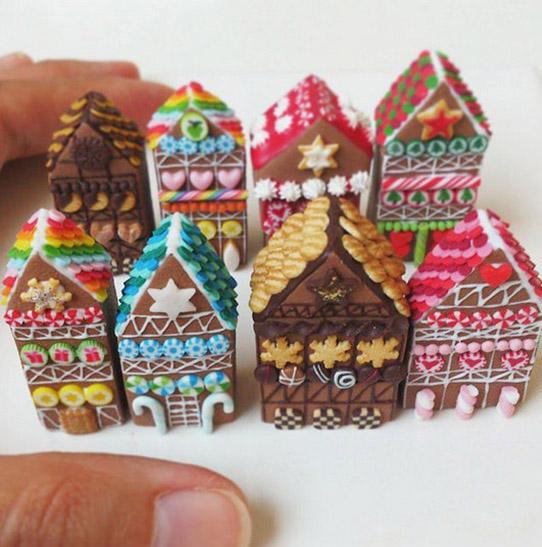 фото миниатюры Стефани Килгаст_пряничные домики 542 х 547