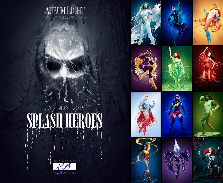 2015 Milk Calendar – SPLASH HEROES_banner