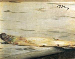 натюрморт Эдуарда Мане_Стебель спаржи  600 х 472