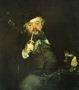Эдуард Мане_картина За кружкой пива 700 х 801