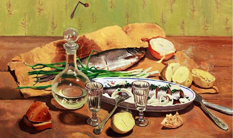 """картина """"Хорошо сидим"""" автор Владимир Копылов  800 х 474"""