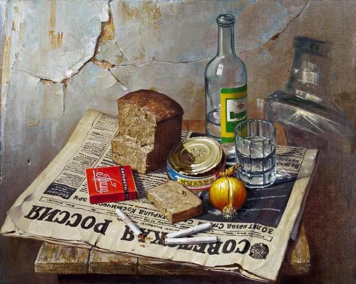 картина Килька в томатном соусе_Мазур Николай