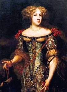 картина с изображением Лизелотты фон дер Пфальц