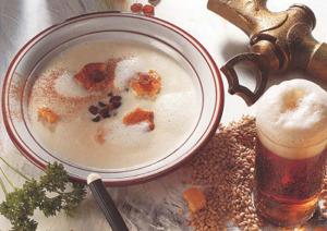 сладкий пивной суп с корицей