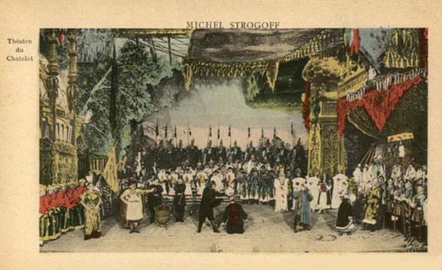 Le Camp de L'Emir from Michel Strogoff
