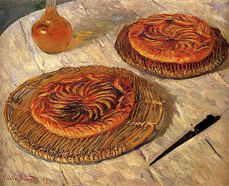 картина Галеты_художник Клод Моне, 1882  750 х 609