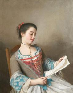 Лиотар Красавица за чтением 632 х 800