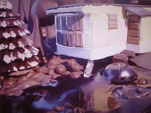Шоколадная оттепель, 2001 Уилл Коттон 750 х 564