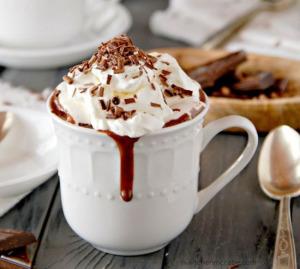 горячий шоколад по-венски  650 х 584