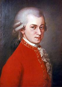 портрет Моцарта 566 х 800