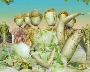 """фуд-арт работа из серии """"Овощной музей""""_Ju Duoqi_17_634x772"""