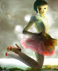 """фуд-арт проект """"Фантазии из китайской капусты""""_«The Fantasies of Chinese Cabbage» _Ju Duoqi"""