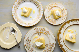 фото лимонного пудинга по рецепту Джексона Поллока 850 х 567