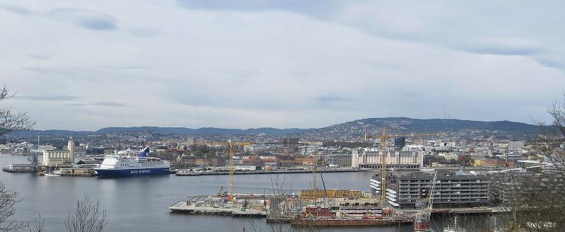 пейзаж Осло