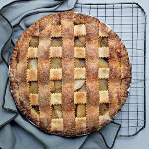 фото яблочного пирога от Джексона Поллока 600 х 598