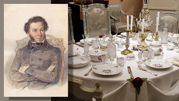Кулинарные пристрастия гениев. Пушкин 600 х 340