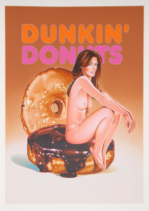 американский поп-арт_Мел Рамос _donuts