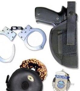 полицейский набор с пончиком_изошутка