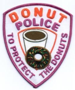 пончики полицейских-бейдж-donut-police-badge