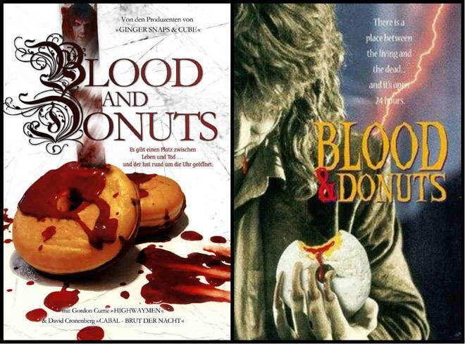 постер фильма кровь и пончики