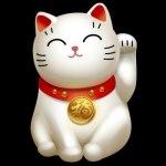 японский символ благополучия-кот
