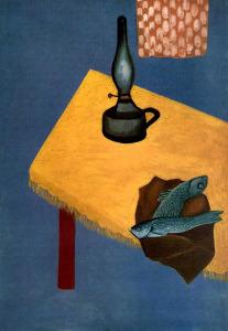 Давид Штеренберг Натюрморт с лампой и селедкой 580 х 838