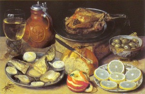 Роскошный натюрморт-Георг Флегель 800 х 520