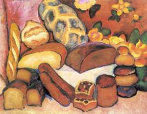 И. Машков. Хлебы. 1912 - 773 х 600