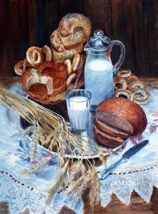 Лесохина Любовь, Постановочный натюрморт, 2003