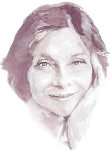 портрет вином французской киноактрисы Macha Meril