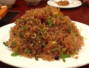 """китайское блюдо """"Муравьи, взбирающиеся на дерево""""  570 х 437"""