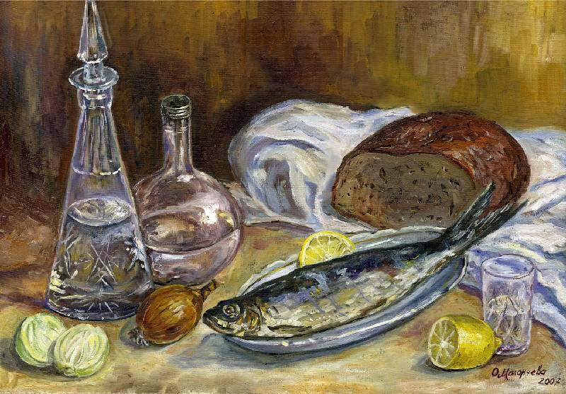 Русский завтрак- Ольга Маланчева, 800 х 557